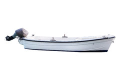 Image of an oared boat Royalty Free Stock Photo
