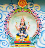 Image Of Indiradurgai At Hindu Temple Stock Photography