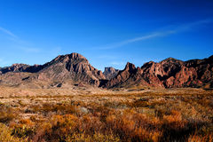 Image Of Mountains In Big Bend, Texas Stock Photos