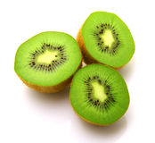 Image Of Sliced Kiwi Isolated On White Royalty Free Stock Photo