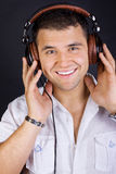 Image Of Smiling DJ Stock Image