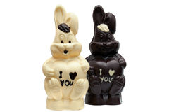 Free Image Of Two Tasty Chocolate Bunnies Stock Images - 44533224