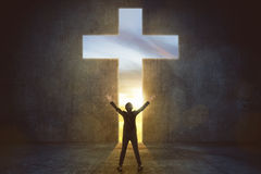 Free Image Of Woman Praise To God Stock Photography - 82397402