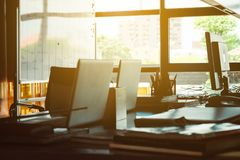 Image Of Workplace Royalty Free Stock Photography