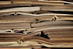 Image of old antique books stack Royalty Free Stock Photo