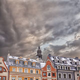 Riga Architecture Royalty Free Stock Photography