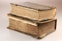 Image of old books from 16th Century Stock Photography