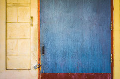 image of old rusty door lock . Royalty Free Stock Image