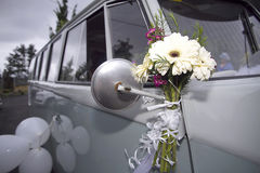 Wedding van Royalty Free Stock Images