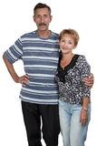 Image of old woman and man Royalty Free Stock Photos