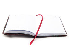 Image of open notebook Royalty Free Stock Photography