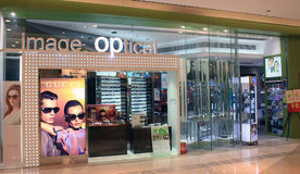 Image optical shop in hong kong Royalty Free Stock Images