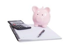 Image orientée financière et de l'épargne Photographie stock