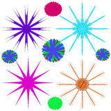 Image, ornaments, intricacy, outline, spirograph, symmetry, pattern. Stock Image