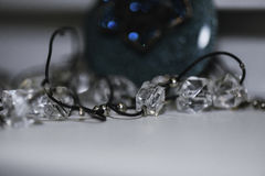 Image ornaments jewelery in macro Stock Photography