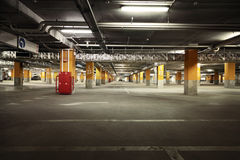 Image of parking garage underground interior Stock Image
