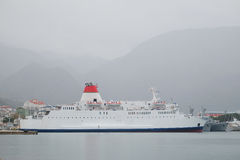 Image of a passenger ferry-boat Stock Photo