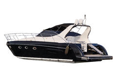 Image of an passenger motor boat Royalty Free Stock Photography