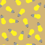 With the image pattern lamp yellow Stock Photo