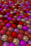 Colorist Bright tight pearls in perspective.6. Image of pearls grouped and clenched as a human manifestation Stock Illustration
