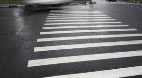 Image of pedestrian crossing Royalty Free Stock Image