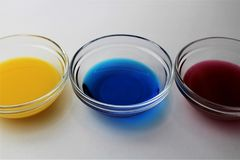 An Image of a petri dish - Petri plate, cell culture dish. Abstract Royalty Free Stock Images