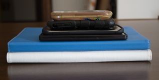 Phones and tablets. Image of phones and tablets stock image