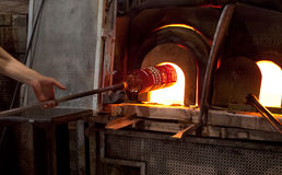 Murano Glass Oven Stock Images