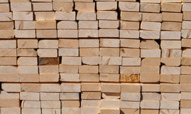 Pile of Lumber Stock Photography
