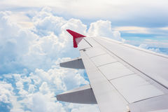Image plane of the wing Royalty Free Stock Image