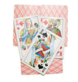 The image of playing cards Stock Photography