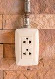 An image of plug on background Stock Photo