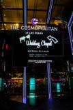 Pop Up Wedding Chapel, Las Vegas, NV. Image of the Pop-Up Wedding Chapel at the brand new Cosmopolitan in Las Vegas, NV Royalty Free Stock Photo