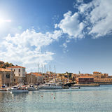 Chania town on Crete Stock Image