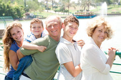 Image of Portrait of a happy family Royalty Free Stock Image