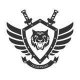 Military symbol, legionary`s badge. Stock Photography