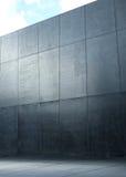 Image presenting a modern polish, concrete wall Stock Photo