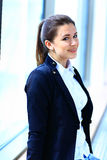 Image of pretty businesswoman Royalty Free Stock Image