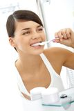 Morning hygiene Stock Photography
