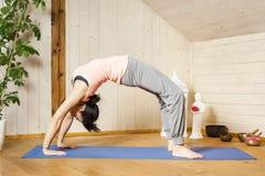 Yoga woman Royalty Free Stock Photography