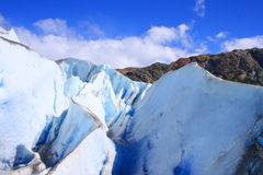 Image prise de la glace glaciaire Image stock