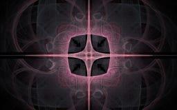Image produite par Digital faite en fractale colorée Image libre de droits