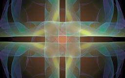 Image produite par Digital faite en fractale colorée Photos libres de droits
