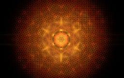 Image produite par Digital sous forme de formes géométriques abstraites de diverses nuances et de couleurs pour l'usage dans le w Photographie stock