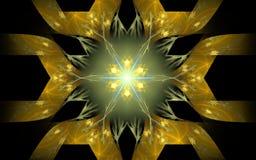 Image produite par Digital sous forme de formes géométriques abstraites de diverses nuances et de couleurs pour l'usage dans le w Images stock