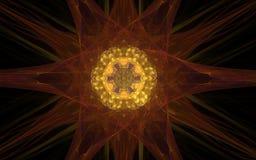 Image produite par Digital sous forme de formes géométriques abstraites de diverses nuances et de couleurs pour l'usage dans le w Photos stock