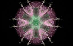 Image produite par Digital sous forme de formes géométriques abstraites de diverses nuances et de couleurs pour l'usage dans le w Photo stock