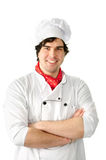 Professional chef man Stock Photo