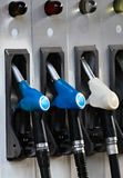 Pump with unleaded petrol. Image of a pump with unleaded petrol royalty free stock photo