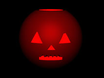 Image of pumpkin by halloween. Stock Images